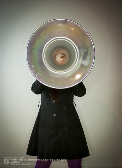 Exposición Tania Candiani Laboratorio Arte Alameda