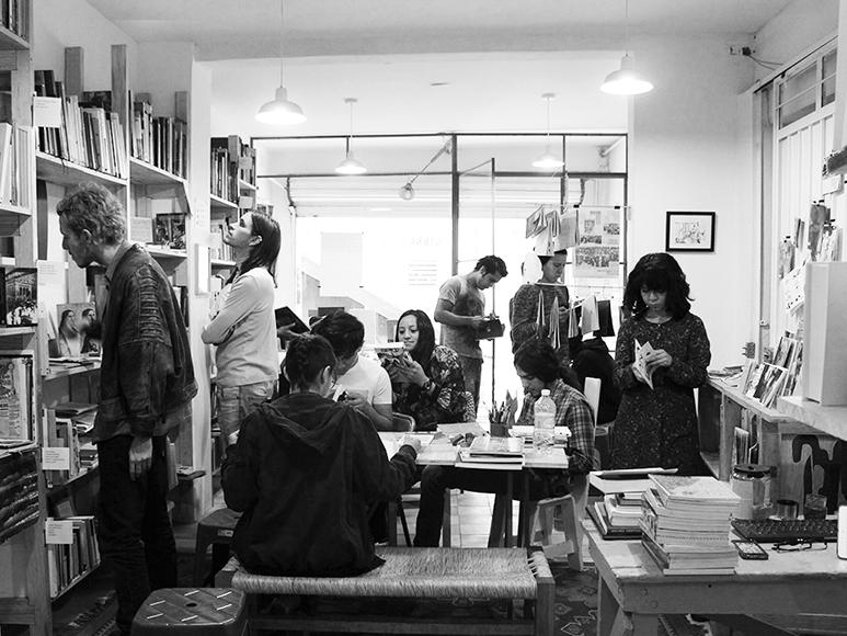 Aeromoto: biblioteca comunitaria en la Ciudad de México